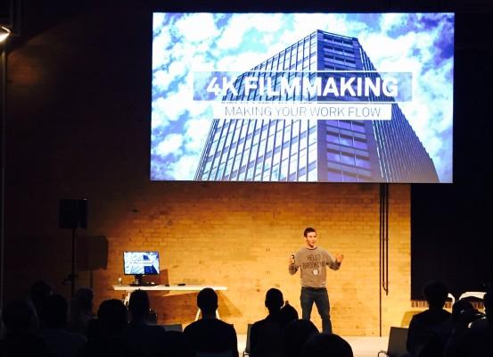 HP ZED Berlin - 4K Filmmaking