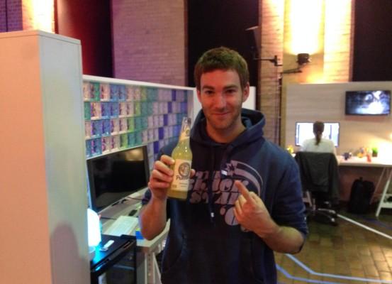 HP ZED Berlin - Drinking a Limo